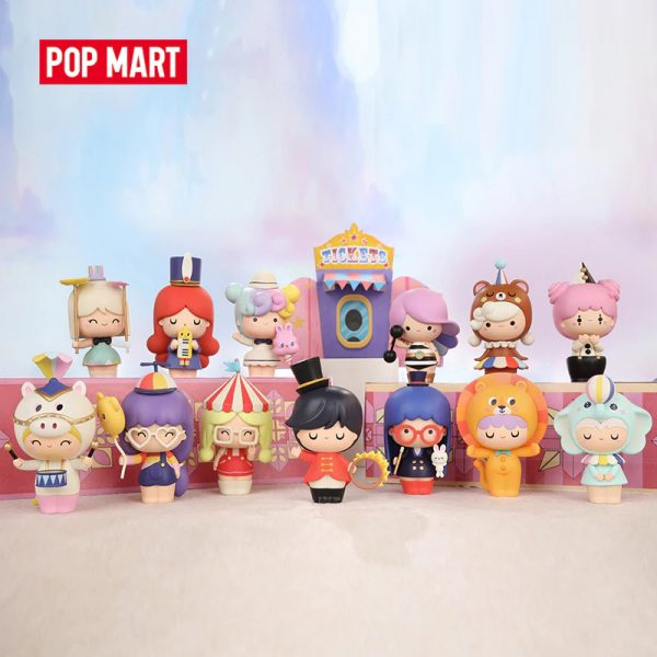 Figura in vinile Momiji Circus - blind box Pop Mart