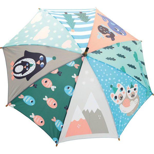 Ombrello per bambino Pinguino Michelle Carlslund Vilac