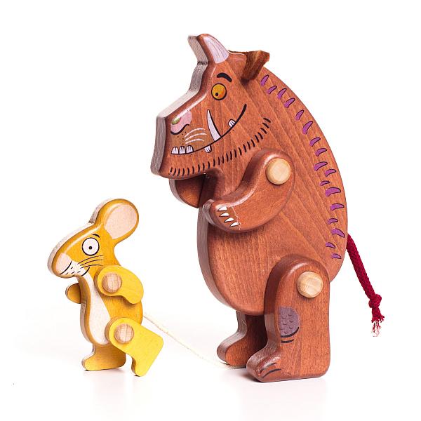 Personaggi di legno Il Gruffalo - Gruffalo & Mouse Bajo