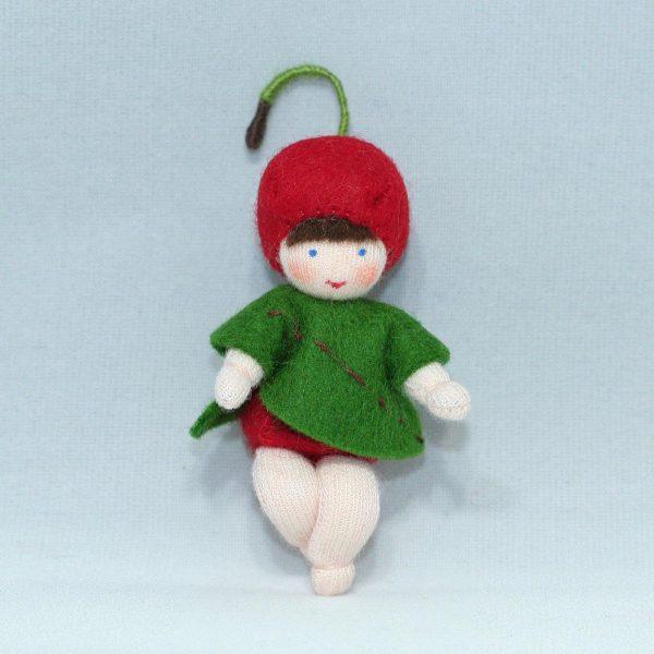 Figura Waldorf Fata Cherry Baby Ambro-dolls