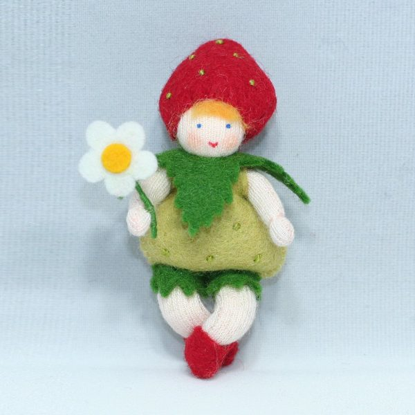 Figura Waldorf Fata Strawberry Baby Ambro-dolls