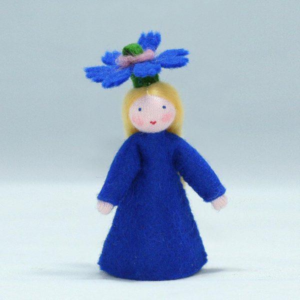 Figura Waldorf Fata Summer Cornflower Ambro-dolls