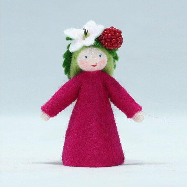 Figura Waldorf Fata Summer Raspberry Ambro-dolls