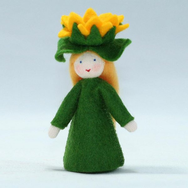 Figura Waldorf Fata Summer Sunflower Ambro-dolls