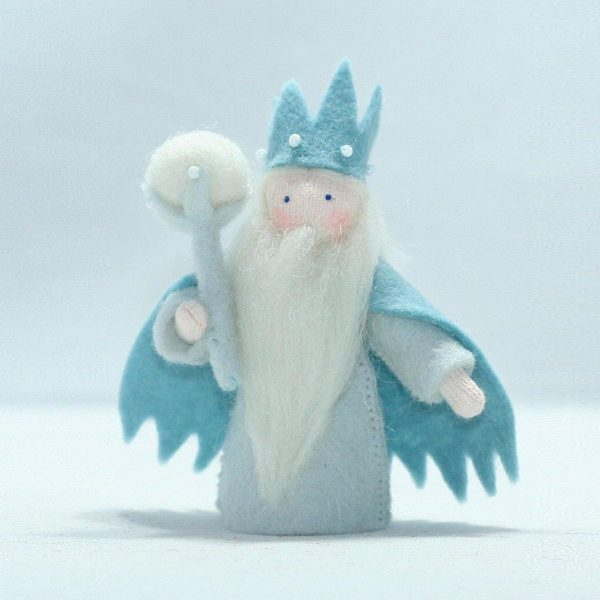 Figura Waldorf Fata Winter King Ambro-dolls