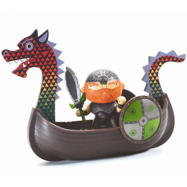 Figura in vinile Arty Toys Pirata Drack & ze Drakkar Djeco