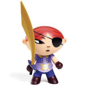 Figura in vinile Arty Toys Pirata Mary Scarlett Djeco