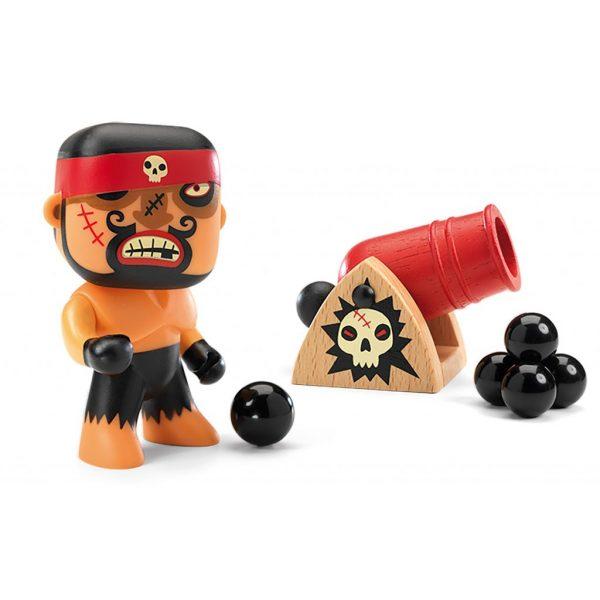 Figura in vinile Arty Toys Pirata Ric & boumcrak Djeco