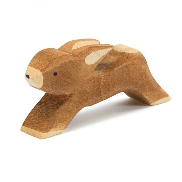 Figura legno Coniglio che corre - Ostheimer