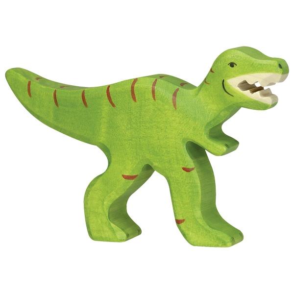 Figura legno Tirannosauro - Holztiger