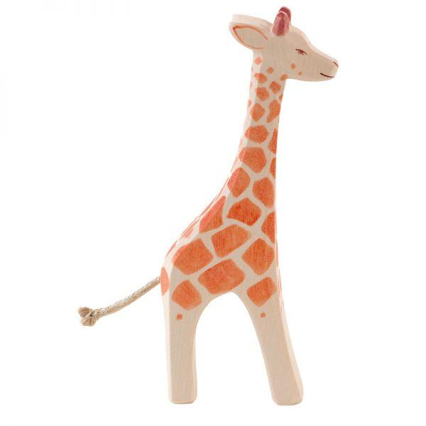 Figura legno giraffa grande in piedi - Ostheimer