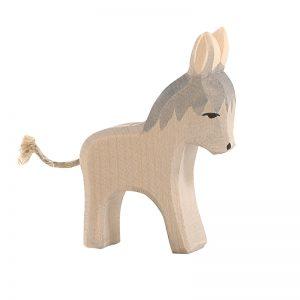 Figura legno piccolo asino - Ostheimer