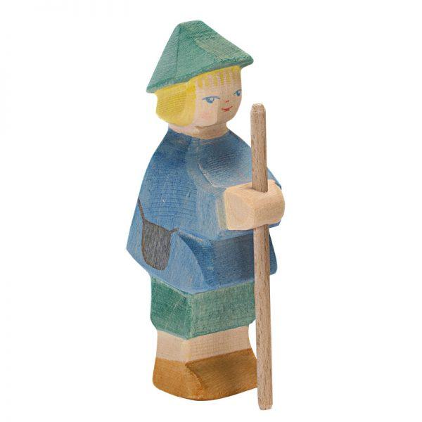 Figura legno piccolo pastore - Ostheimer