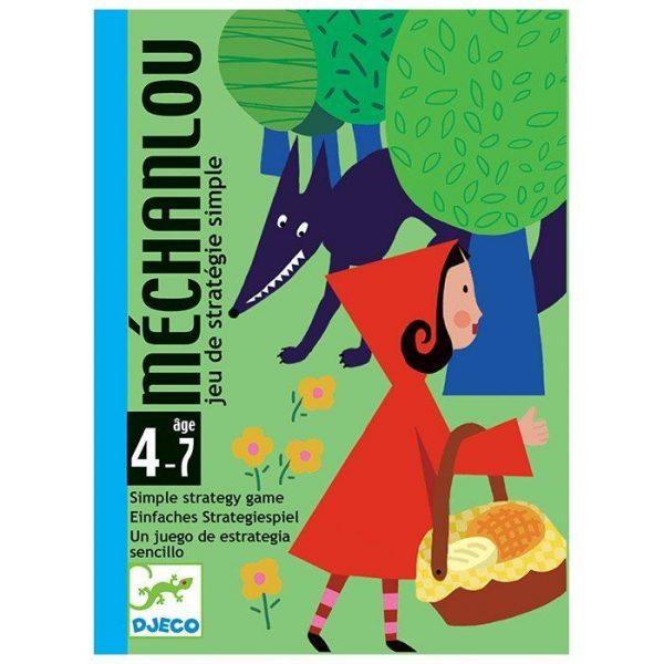 Gioco carte Mechanlou crea la storia di Cappuccetto rosso Djeco