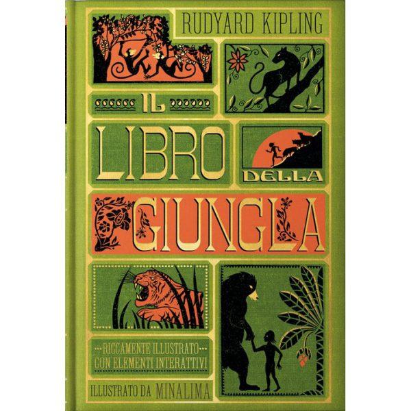 Il libro della giungla Edizione illustrata da MinaLima