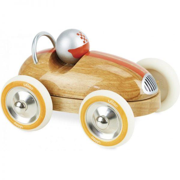 Macchina corsa vintage wood Vilac