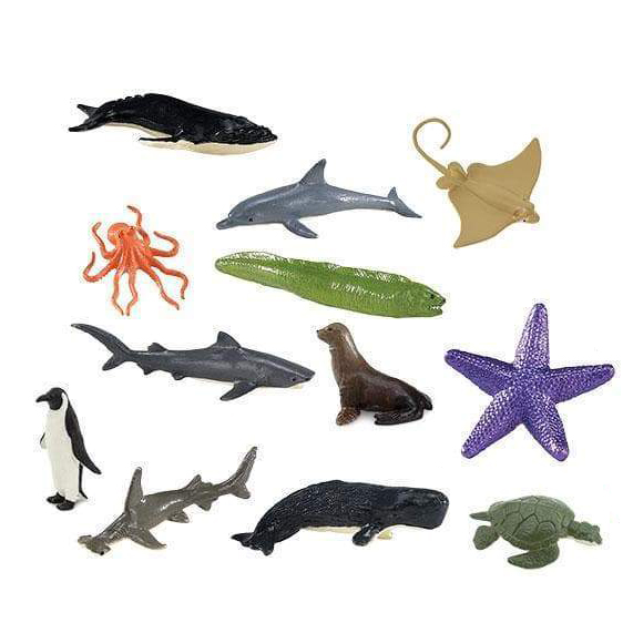 Set 12 miniature animali Ocean TOOB® Safari LTD