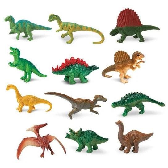 Set 12 miniature dinosauri TOOB® Safari LTD
