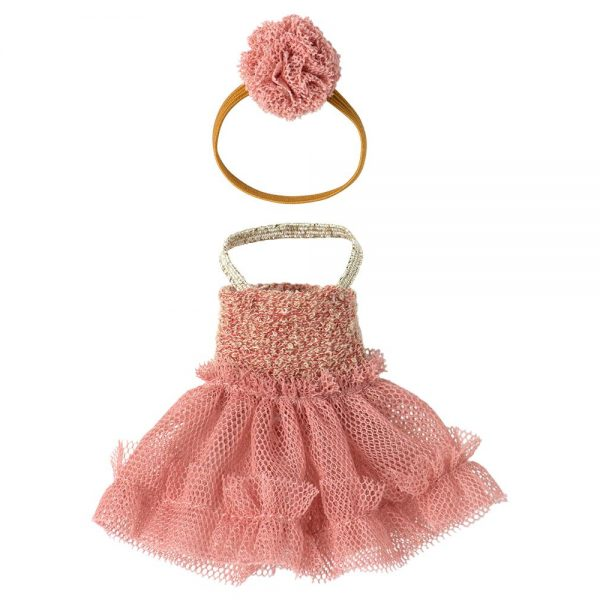 Set abiti ballerina rosa big sister topo Maileg