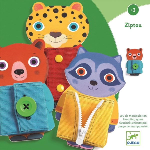 Set figure delle allacciature Ziptou Djeco