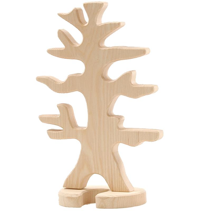 Figura legno Albero porta uccelli - Ostheimer