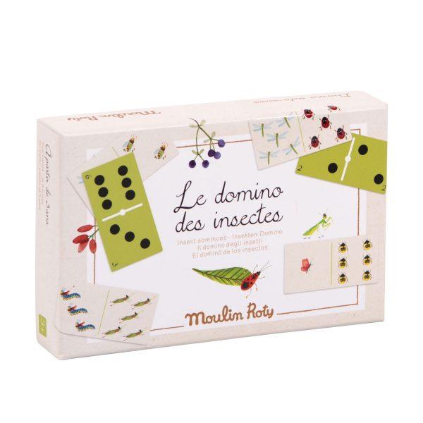 Domino Gli insetti Le Jardin Moulin Roty