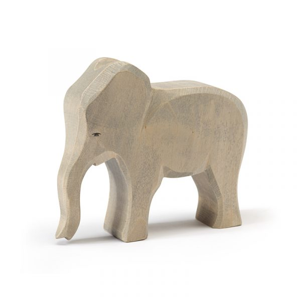 Figura legno Elefante grande femmina - Ostheimer