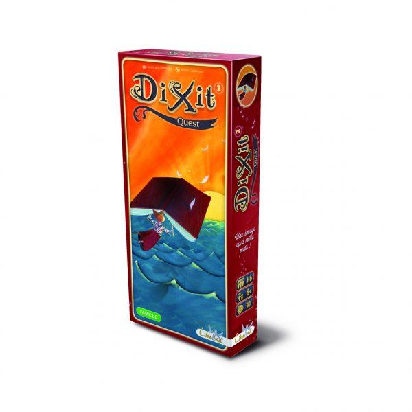 DIXIT estensione 2 Quest con 84 nuove carte