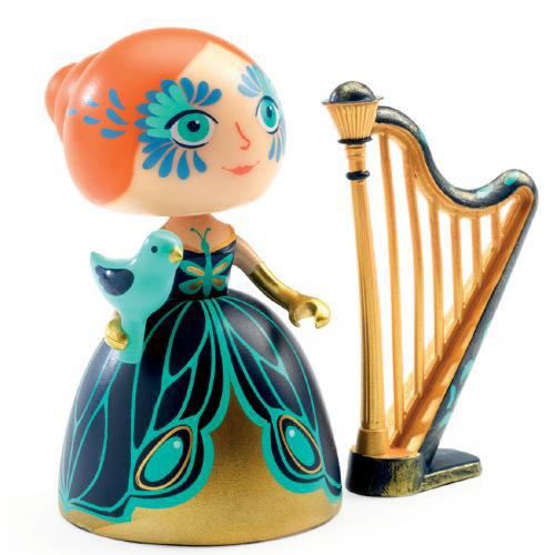Figura in vinile Arty Toys Princess Elisa & Ze Djeco