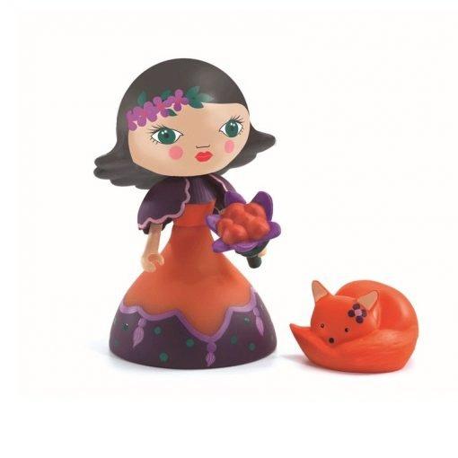 Figura in vinile Arty Toys Princess Oya & Fox Djeco