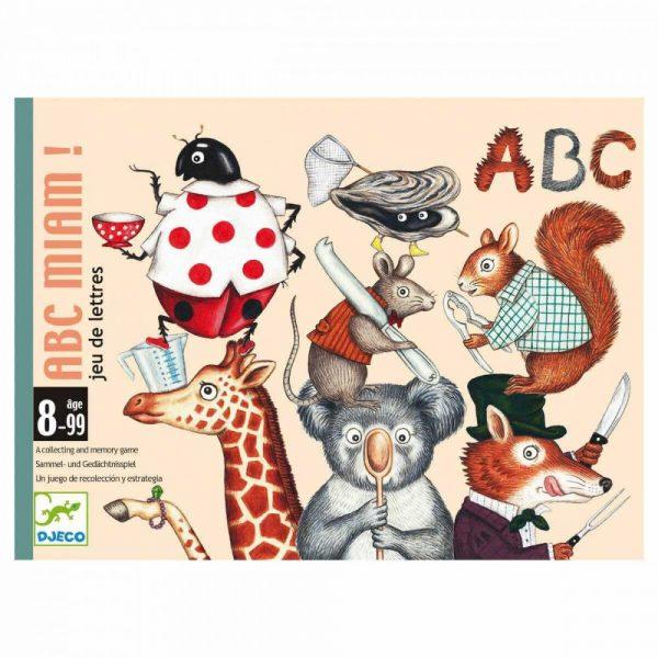 Gioco carte ABC Miam lettere e parole Djeco