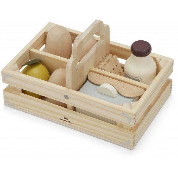 Gioco simbolico Food box Konges sløjd