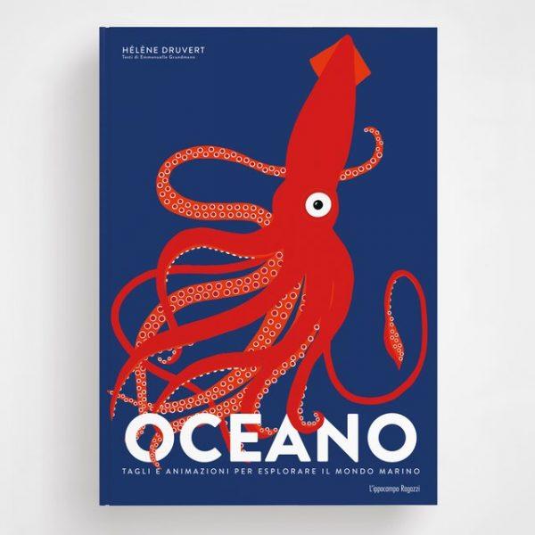 Oceano - Libro animato per esplorare il mondo marino Ippocampo Edizioni
