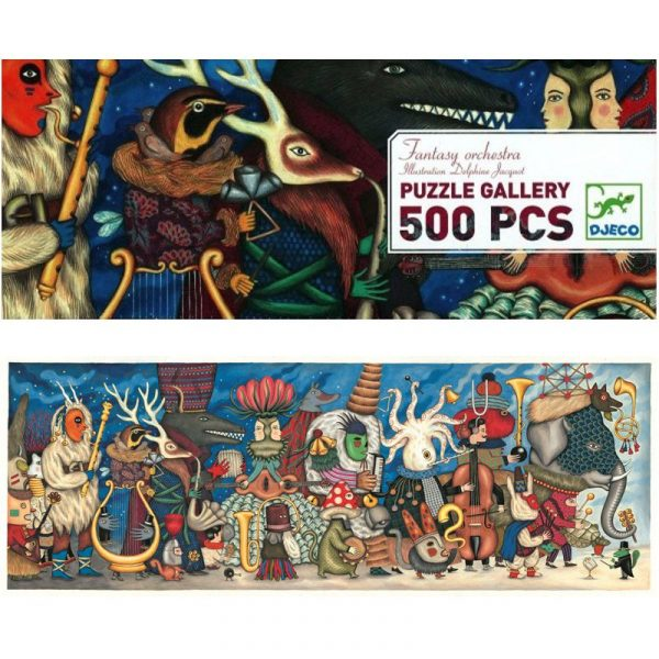 Puzzle Gallery Fantasy 500 pezzi Djeco