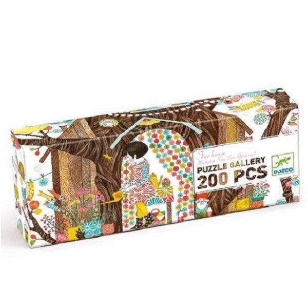 Puzzle Gallery Tree House 200 pezzi Djeco