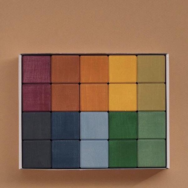 Set 20 cubi Earth primari Raduga Grez