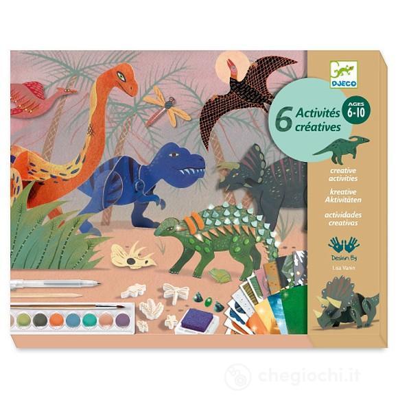 Set artistico multiattività Dino Djeco