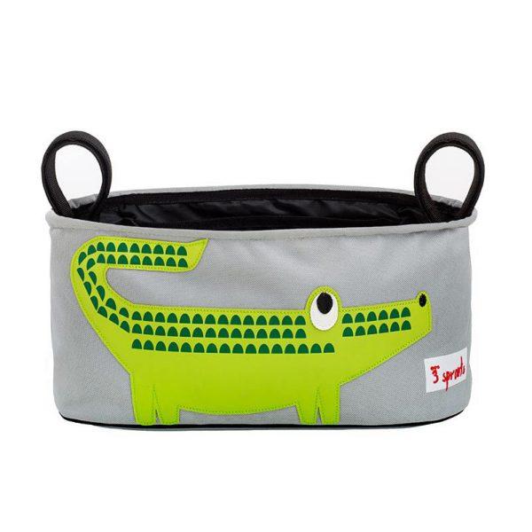 Porta oggetti passeggino Coccodrillo - 3 Sprouts