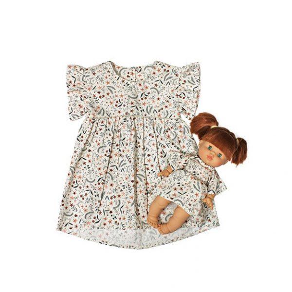 Abito bambina + abito bambola Collection Duo Minikane