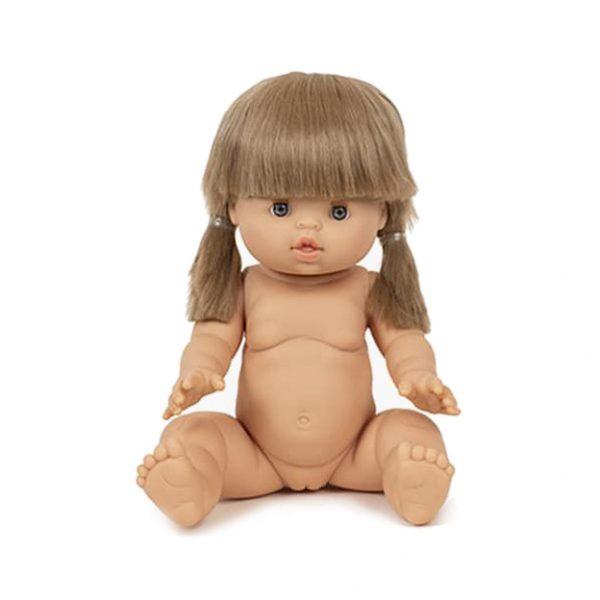 Bambola Baby Doll Yzé con capelli Paola Reina