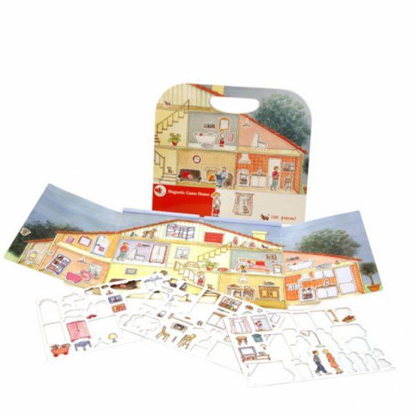 Cartella gioco magnetico Casa Egmont Toys