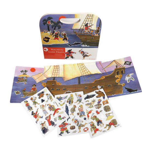 Cartella gioco magnetico Pirati Egmont Toys