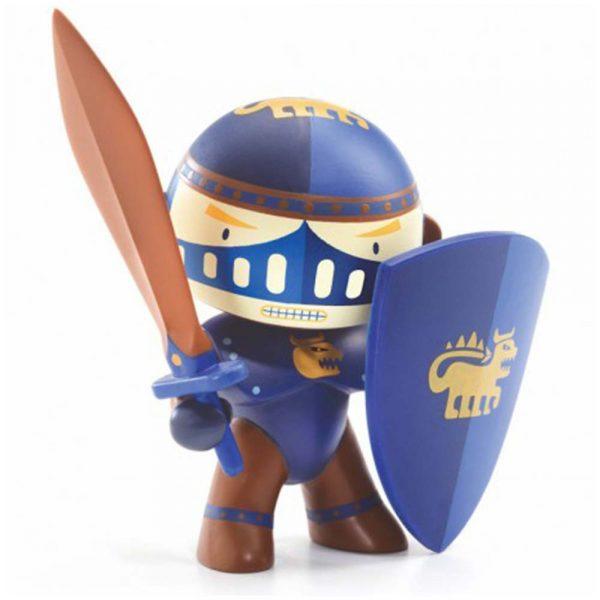 Figura in vinile Arty Toys Cavaliere Terra knight Djeco