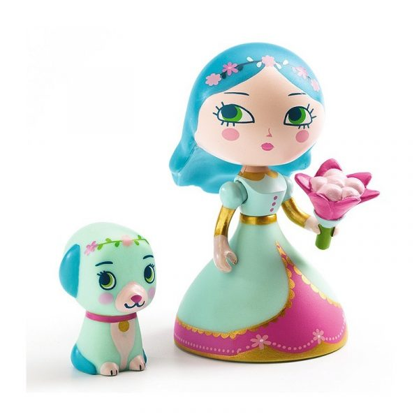 Figura in vinile Arty Toys Princess Luna & blue Djeco