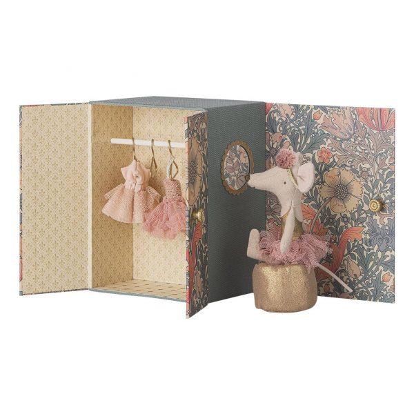 Set gioco ballerina con scatola Dance room Maileg
