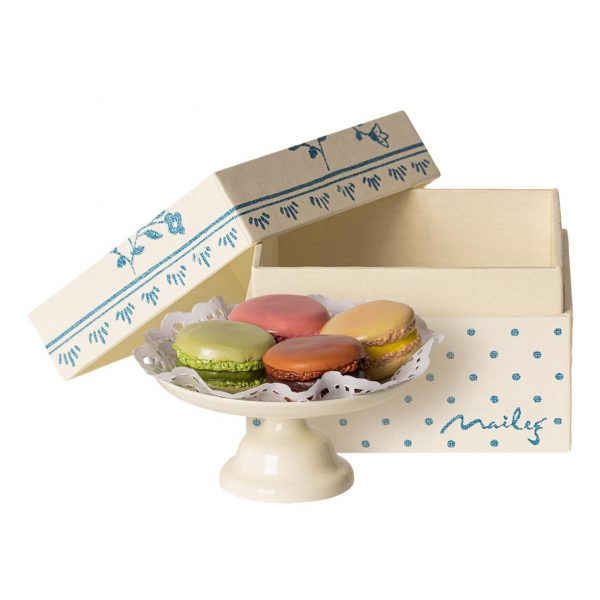 Set gioco miniatura Macarons Maileg