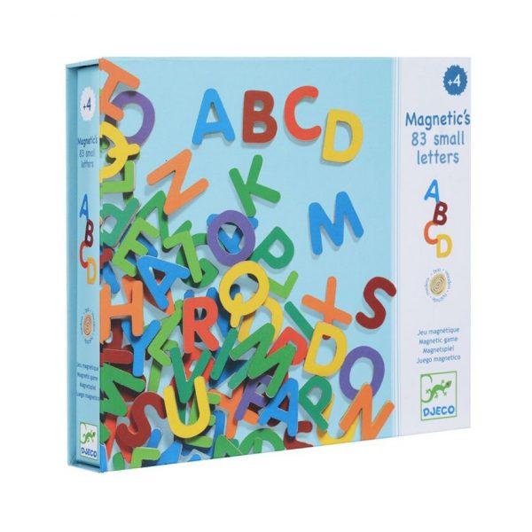 Set lettere magnetiche alfabeto in scatola Djeco