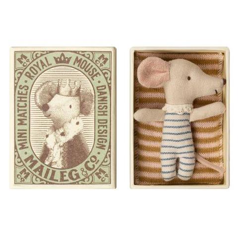 Topino pupazzo baby mouse sleep-weakey Maileg