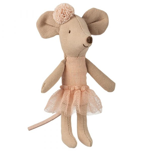 Topino pupazzo ballerina little sister Maileg
