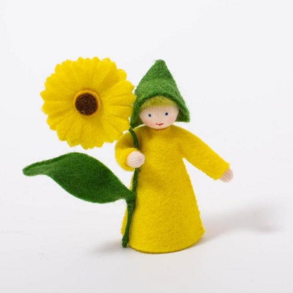 Figura Waldorf Fata Summer Calendula boy Ambro-dolls
